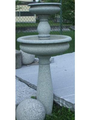 Fontana Rotonda in Verde Mergozzo Bociardato