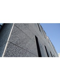 Zoccolatura retta sez cm 30x4 a misura in Serizzo Antig. Granigliato