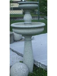Fontaine Ronde en Verde Mergozzo Bouchardée