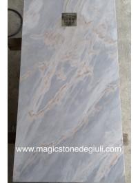 Piatto Doccia sez cm 158x80x3 in Palissandro Satinato